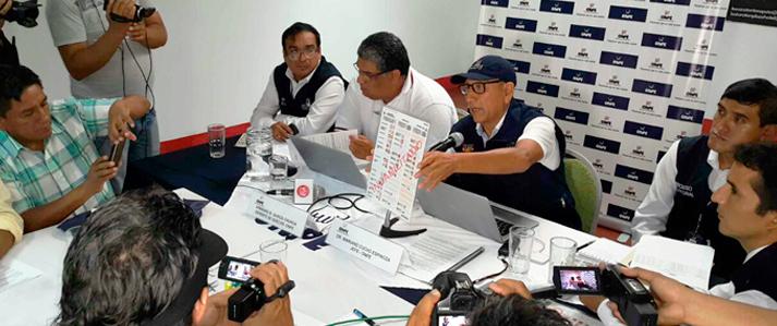 Jefe de ONPE supervisó organización de Elecciones Generales en la región San Martín