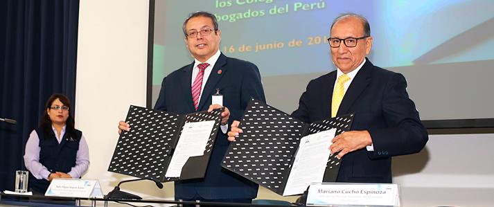Elecciones de los colegios de abogados de todo el país contarán con asistencia técnica de la ONPE