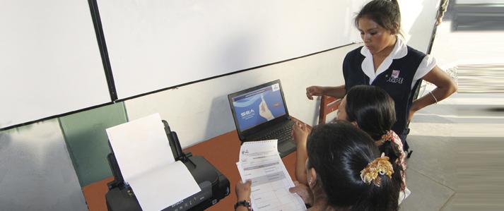 ONPE utilizará escrutinio automatizado en elección de nuevas autoridades de la UNMSM
