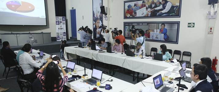 ONPE expuso a periodistas la aplicación de la Cifra Repartidora para las elecciones al Congreso de la República