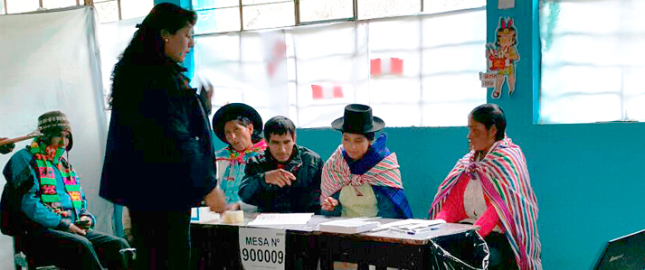 Se instaló el 100 por ciento de mesas para las elecciones municipales 2015