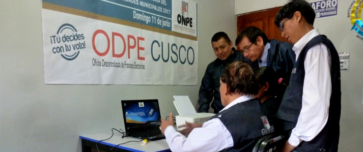 ODPE de Cusco capacitó a personal para la Consulta Popular de Revocatoria en Puno, Cusco y Apurímac