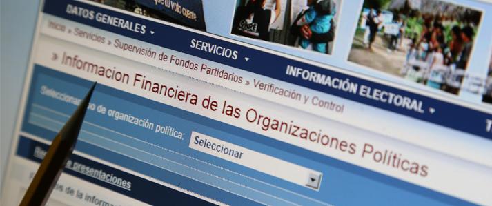 Hasta el 7 de enero debe presentarse primera información de ingresos y gastos de campaña por Elecciones 2016