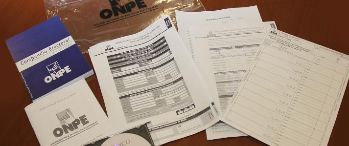 Un total de 190 solicitudes para la venta de kit electoral de revocatoria se presentan ante la ONPE