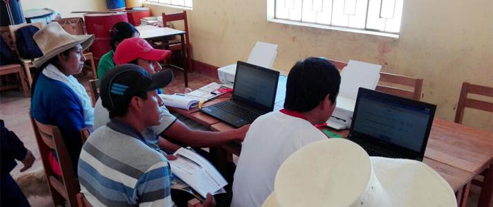 ONPE capacitará con uso de tecnología a los miembros de mesa de Cusco, Puno y Apurímac