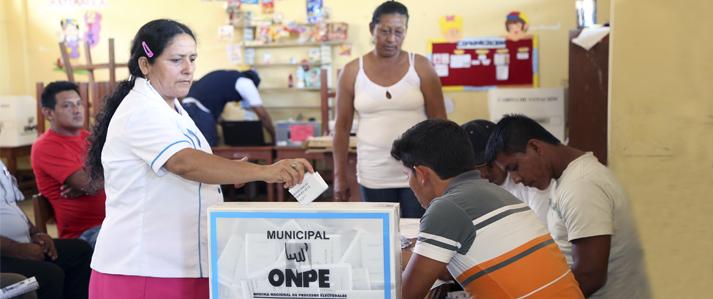 ONPE designa a Jefe de ODPE para organizar Elecciones Municipales en tres distritos