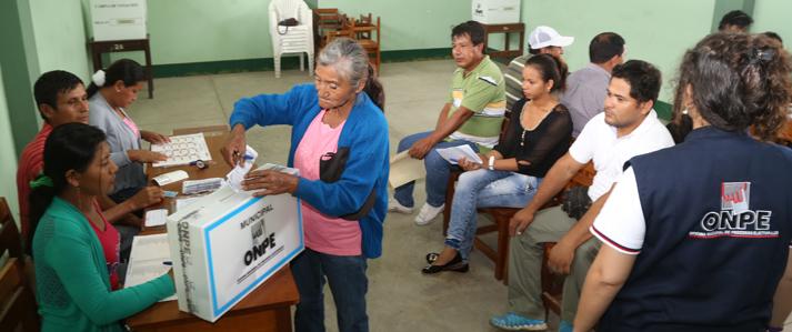 ONPE emite resultados de la nueva provincia de Putumayo al 100%