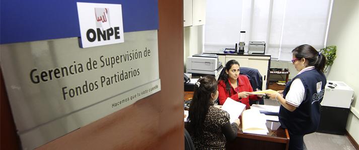 ONPE: El 06 de abril vence plazo para entregar cuarto informe financiero de campaña