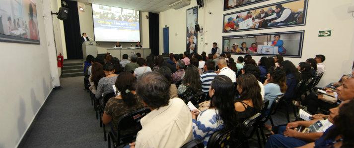 ONPE explicará la transmisión de resultados de las elecciones de octubre