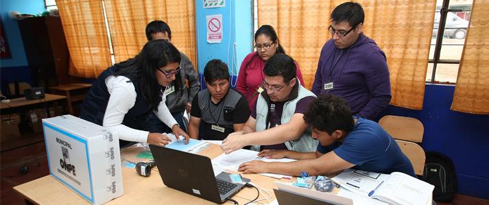 ONPE implementará el Sistema de Escrutinio Automatizado en Elecciones Generales 2016