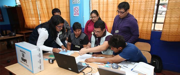 Elecciones municipales de este domingo 29 en nuevos distritos se desarrollará con innovaciones tecnológicas