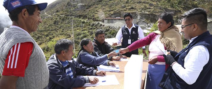 ONPE explica cómo votar en la consulta popular de revocatoria del 11 de junio