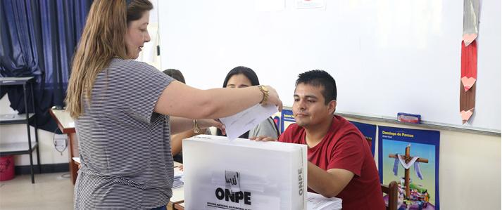 ONPE desmiente versiones sobre supuestas cédulas de sufragio marcadas