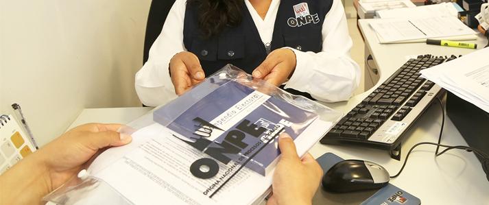 ONPE: Adquisición de kits electorales para consultas de revocatoria comienza este primero de junio