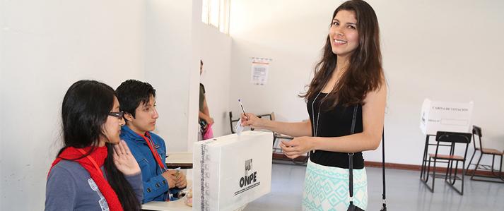 ONPE: 81 electores menores de 18 años votarán en las Elecciones Generales 2016