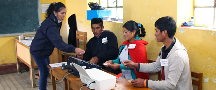 ONPE realiza este domingo primera jornada de capacitación para  miembros de mesa