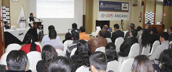 ONPE informará en Áncash sobre nuevas reglas para la consulta de revocatoria