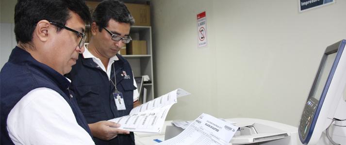 ONPE comienza impresión de materiales electorales para elecciones municipales del 12 de marzo