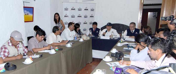 Jefe de ONPE pide a la ciudadanía observar la transparencia de las finanzas partidarias