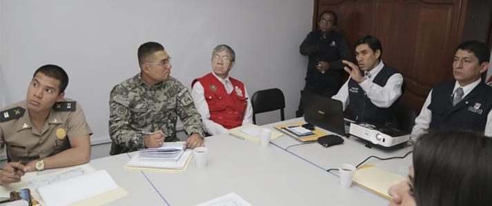 ONPE coordinó medidas con autoridades militares y policiales para mantener el orden y protección de la libertad personal en Amazonas, Cajamarca y La Libertad