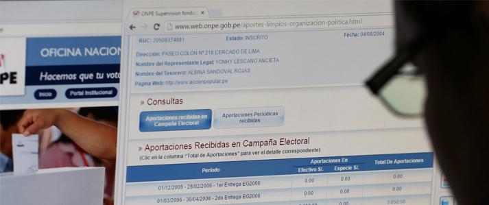 ONPE: Acciones que partidos políticos deben evitar al presentar su información financiera de campaña