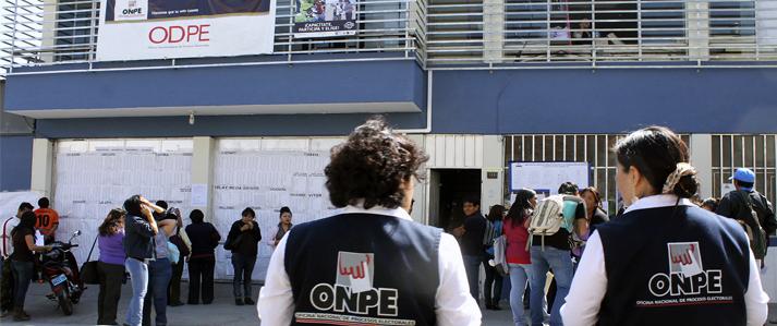 ONPE instala esta semana 60 oficinas descentralizadas en todo el país para organizar Elecciones Generales