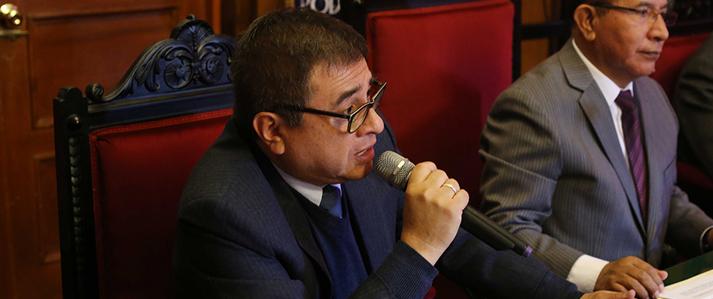 Propuestas de reforma de la ONPE buscan modernizar los procesos electorales, dice su titular Adolfo Castillo Meza