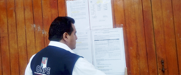 En tres nuevos distritos de reciente creación Publican lista definitiva de miembros de mesa para comicios municipales del 12 de marzo
