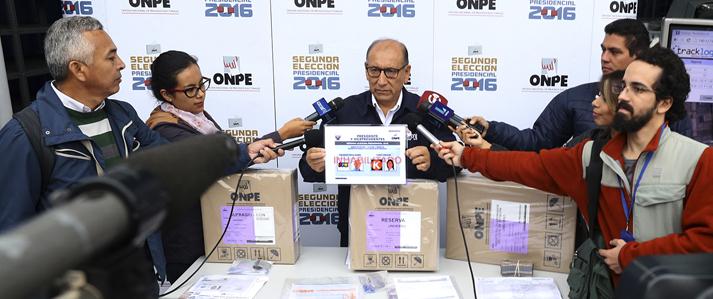 ONPE pide prudencia ante encuestas a boca de urna del domingo 05 de junio