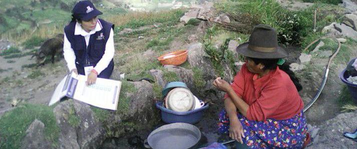ONPE capacita en quechua a electores de Puno,  Cusco, Áncash, Apurímac  y Arequipa