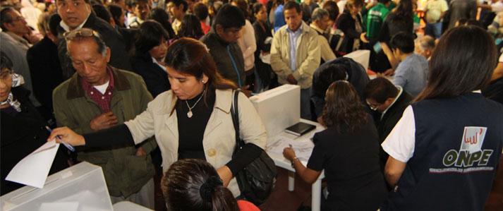 Acción Popular y Partido Aprista solicitan asistencia técnica a la ONPE para sus elecciones internas