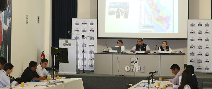 ONPE toma previsiones ante el fenómeno El Niño para desarrollo de las Elecciones Generales 2016