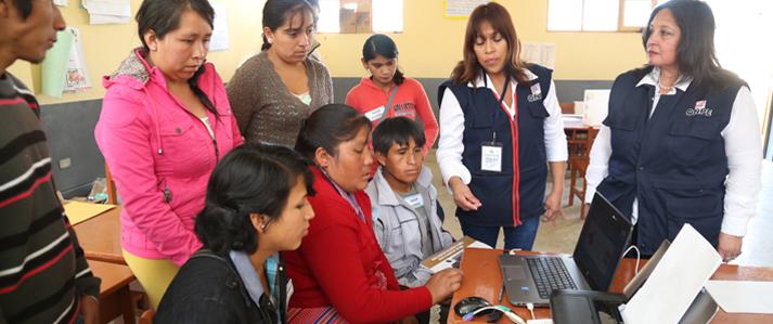 ONPE: Uso de nuevas tecnologías permite obtener resultados rápidos en procesos electorales