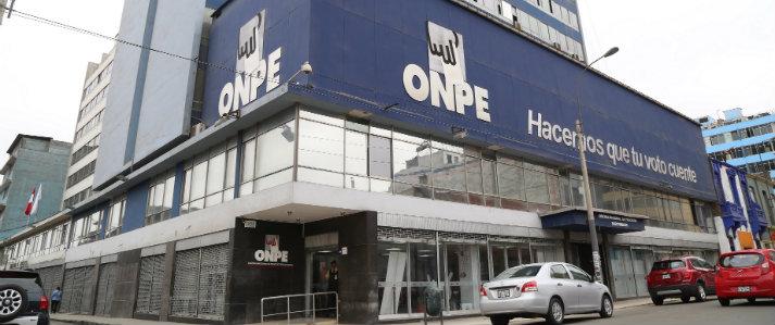 ONPE explicará cambios en materia de financiamiento partidario