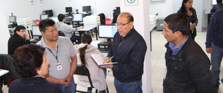 Jefe de ONPE supervisa labor de oficinas descentralizadas a cargo de ejecutar las Elecciones 2016