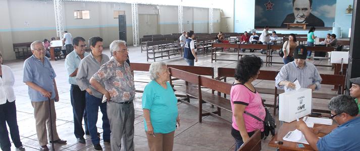 Partido Aprista Peruano elige delegados a Convención Nacional Electoral con apoyo de la ONPE