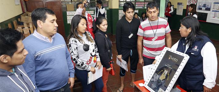 ONPE habilita más de medio centenar de locales y módulos itinerantes para practicar la votación electrónica