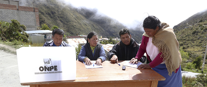 ONPE inició capacitación a electores de Puno para la Consulta de Revocatoria