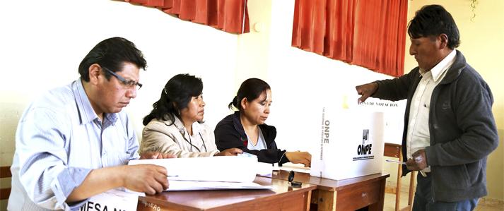 ONPE aboga por el fortalecimiento de la institucionalidad en el Día Internacional de la Democracia