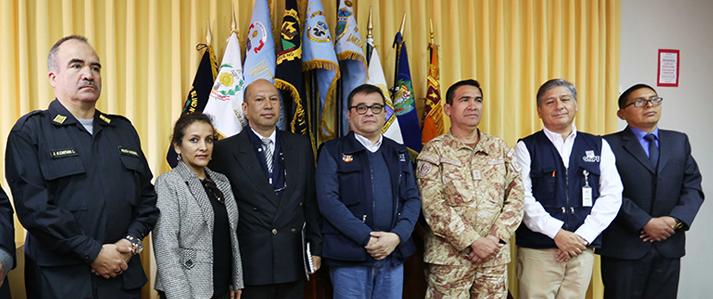 Jefe de la ONPE coordinó medidas de seguridad para Consulta Popular de Revocatoria en Cusco