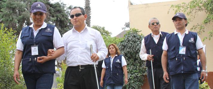 ONPE invita a ciudadanos con discapacidad a empadronarse para tener facilidades al votar en comicios de 2016