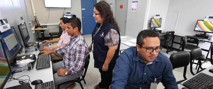 ONPE  habilita laboratorio de pruebas de voto electrónico para personeros de los partidos políticos