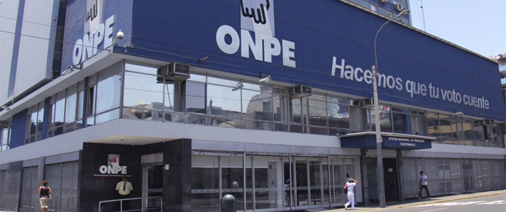 ONPE propone crear una Ventanilla Única de Antecedentes de los Aportantes a las organizaciones políticas