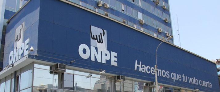 ONPE registra propaganda electoral de partidos que participarán en Elecciones Generales del 2016