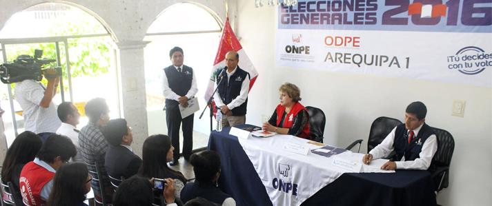 Sesenta oficinas descentralizadas de ONPE inician actividades para organizar las Elecciones 2016