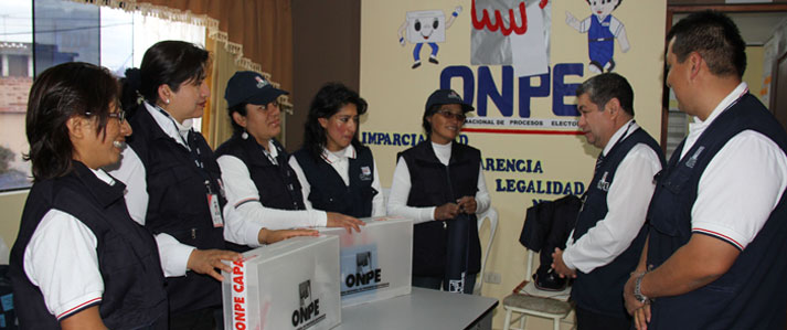 ONPE proyecta instalar 60 oficinas descentralizadas con miras a las Elecciones Generales de 2016