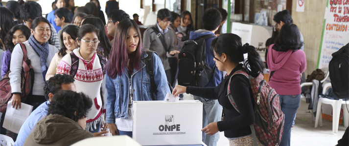 Un total de 27 universidades públicas desarrollaron elecciones con asistencia técnica de la ONPE