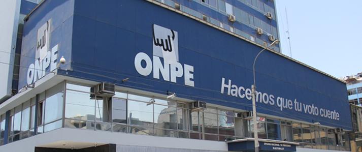 ONPE inicia proceso sancionador a Alianza para el Progreso del Perú