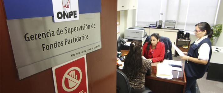 ONPE fija plazos para entrega de información financiera de campaña de elecciones municipales de 2017