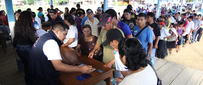 ONPE instalará nuevas mesas de sufragio en más centros poblados para elecciones generales del 2016